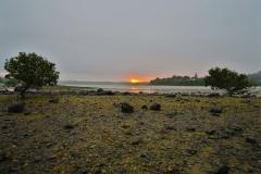 Aroha Island-Sonnenuntergang