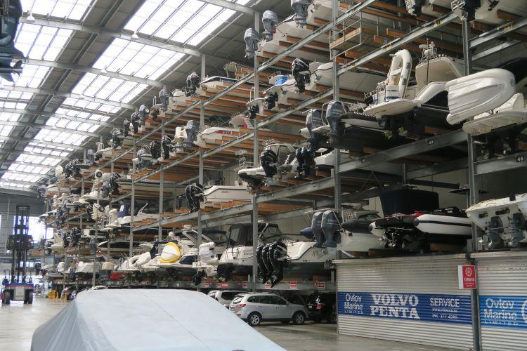 Hafen - Bootsparkhaus