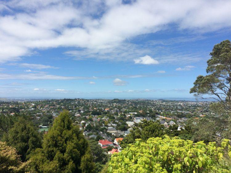 Mount Eden - Ausblick nach Norden