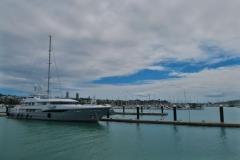 Hafen - Luxusyacht