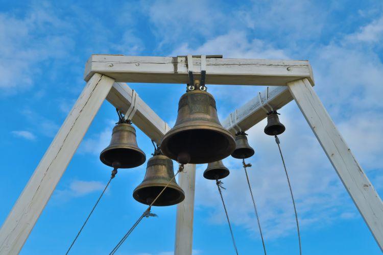 Khuzhir Kirche Glockenturm