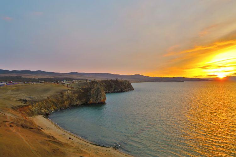 Sonnenuntergang Baikalsee