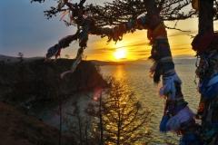 Baikalsee Sonnenuntergang