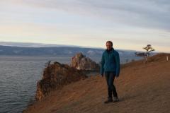 Ich am Baikalsee