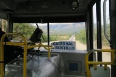 Bus nach Cerro Catedral