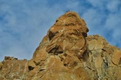 Wanderung zum Refugio Frey - Bergsteiger