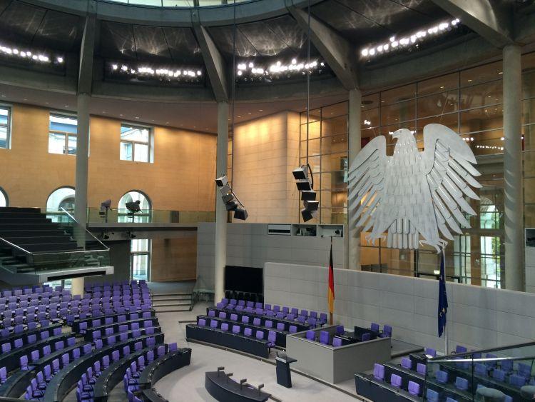 Bundestags im Reichstag