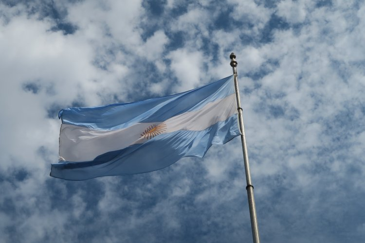 Argentinien - Nationalflagge