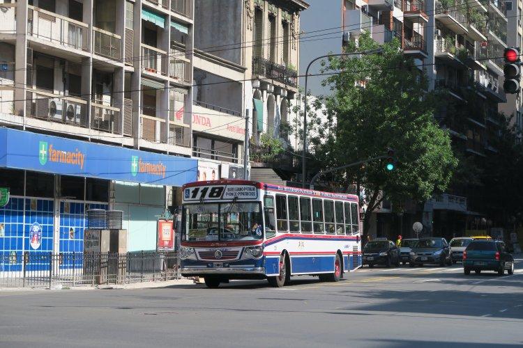 Bus Linie 118