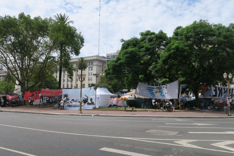 Plaza de Mayo - Protestcamp