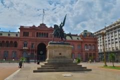 Präsidentenpalast-Casa-Rosada-Monument