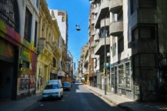 Strasse durch Buenos Aires