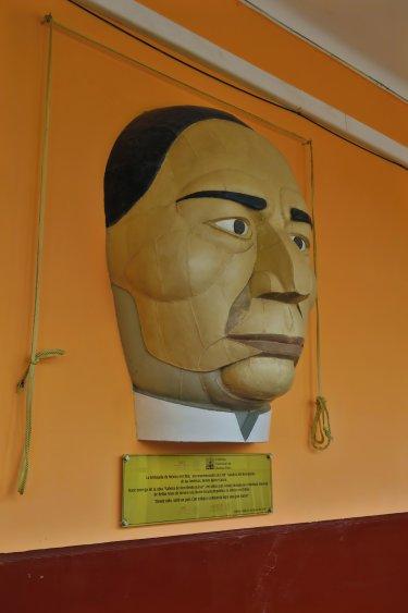 Mexikanische Schule - Gesicht