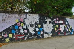 Graffiti Andy Warhole Edie Sedgwick Lou Reed