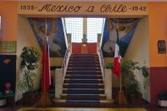 Mexikanische Schule - Treppe