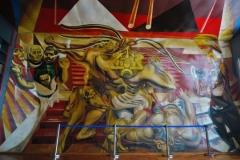 Mexikanische Schule - Wandmalerei Mexiko