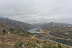 Blick vom Lockout auf dem Staudamm