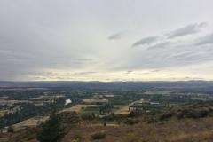 Blick vom Lockout ins Hinterland