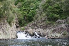 Gegenstromanlage Wasserfall