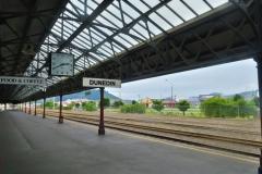 Bahnhof Dunedin - Bahngleis