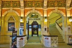 Bahnhof Dunedin - Ticketschalter