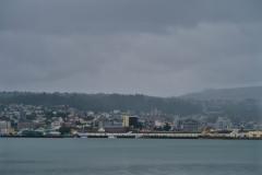 Blick auf Dunedin von der Peninsula
