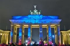 Brandenburger Tor - Blick über Berlin