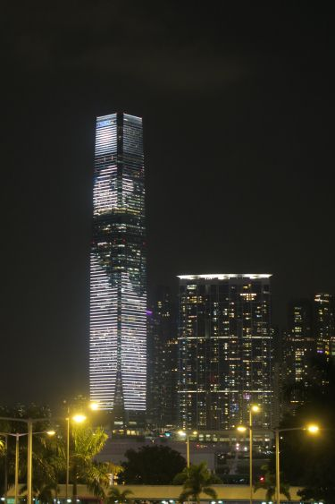 Symphony of Lights - International Commerce Center