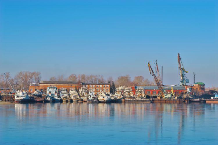 Hafen Irkutsk
