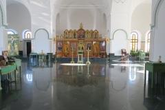 Log Jerusalem Kirche innen