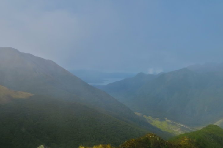 Blick Richtung Lake Manapouri