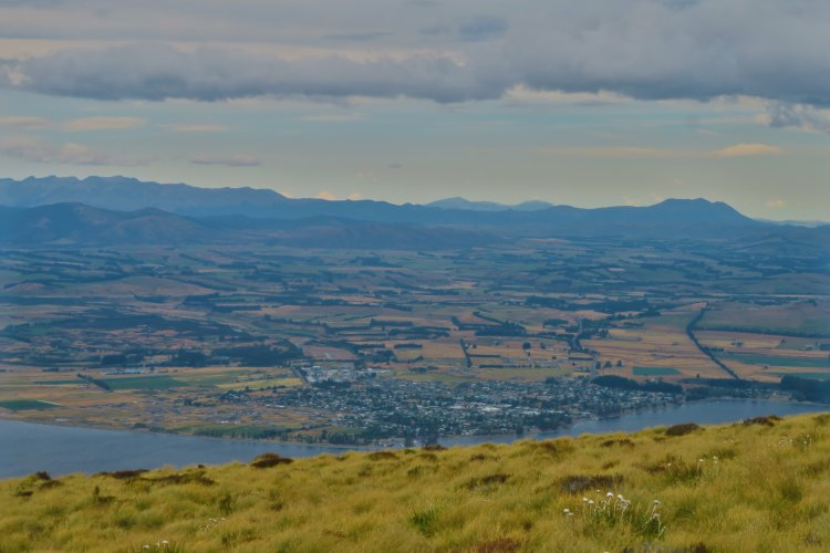 Blick auf Te Anau