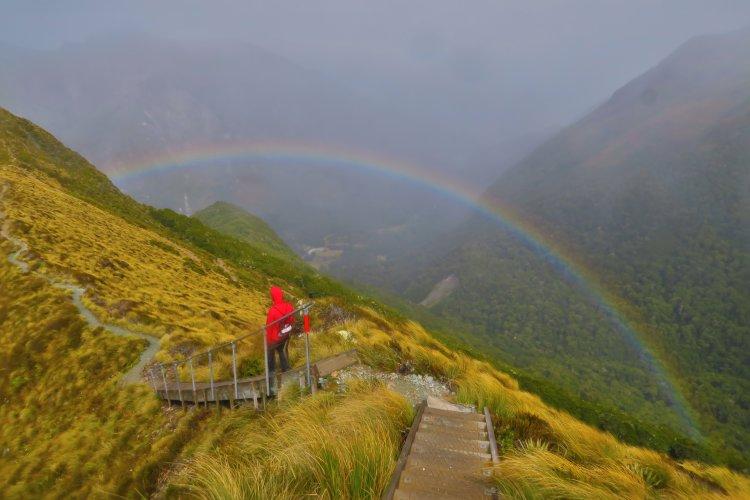 Rainbow Valley - Treppe