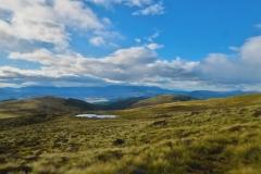 Auf dem Weg zum Mount Luxmore