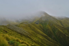 Berge in den Wolken-2