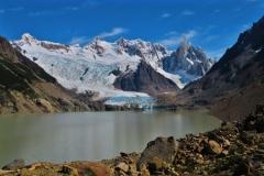 Laguna Torre mit Torre Gletscher