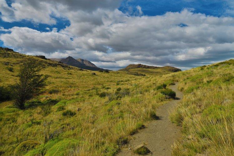 Weg zum Las Aguilas viewpoint
