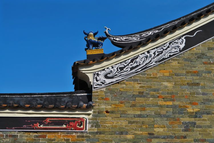 Tang Chung Lung Ancestral Hall - Detail
