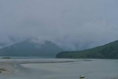 Marlborough Sounds - in den Wolken