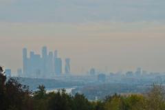 Blick von den Sperlingsbergen - Skyline