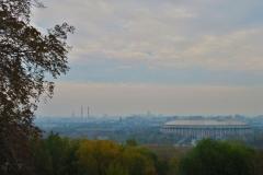 Blick von den Sperlingsbergen - Stadion