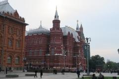 Historisches Museum mit Denkmal für Marschall Schukow