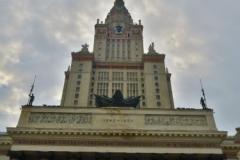 Lomonossow-Universitaet-Eingang