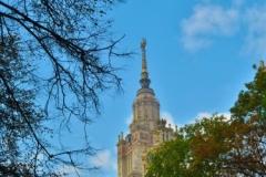 Lomonossow-Universitaet-Spitze