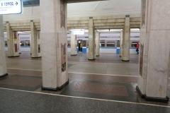 Metro Station Semyonovskaya - Blick von Gleis 1 zu 2