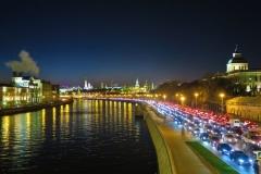 Moskva - Verkehr staut sich
