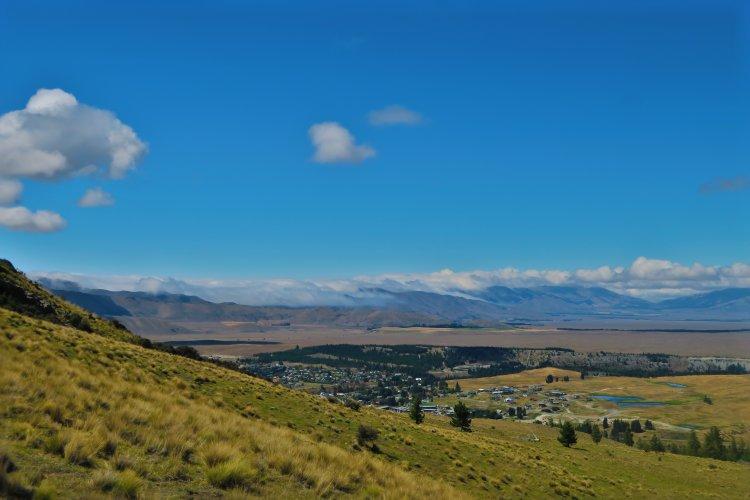 Mount-John - Ausblick