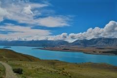 Mount-John-Blick auf den Lake Tekapo