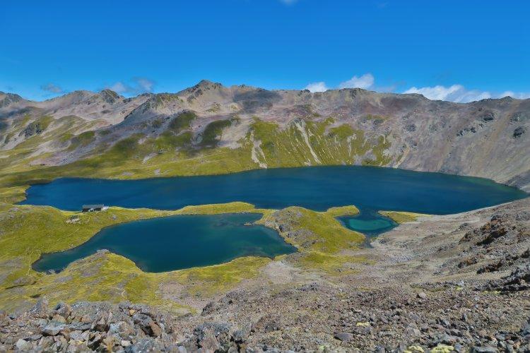 Lake Angelus - Blick vom Robert Ridge Track