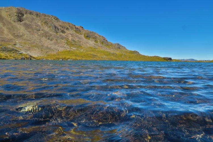Lake Angelus - Wellen